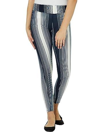 791961003bbe6 Hot Kiss Juniors Mixed Stripe Leggings