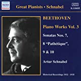 Beethoven: Piano Works Vol. 3 [Recorded 1932-1935]