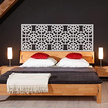 Amazon.com: Wall Decal Headboard Geometric Dorm Decor Shabby Chic ...