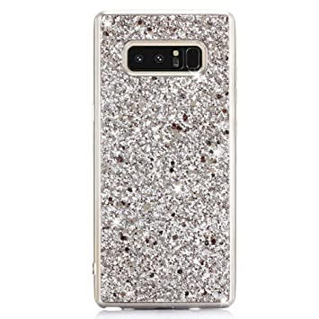 Coque Samsung Galaxy Note 8 Paillette, Coollee Housse Etui Anti-Choc 360  Degres Protection b83b602f299e