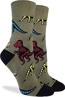 Adult Dinosaur With Eye Pattern Athletic Ankle Socks