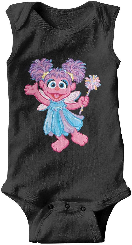Baby Girls Trottie Short Sleeve Funny-Miss-Piggy-Cartoon-Sesame-Street-Muppet-Breathable Organic Cotton Bodysuit