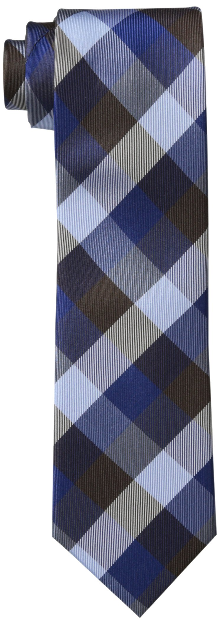 Tommy Hilfiger Men's Buffalo Tartan Tie, Brown Regular