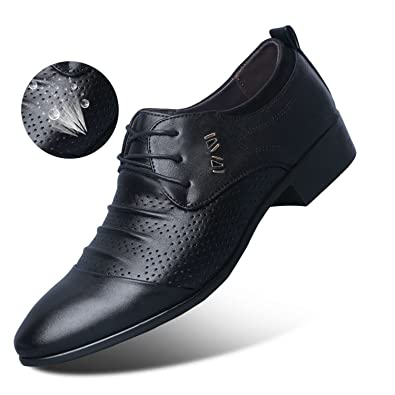 b05958c553478 Amazon.com | Frozac Leather Mens Formal Shoes Dress Shoes Business ...