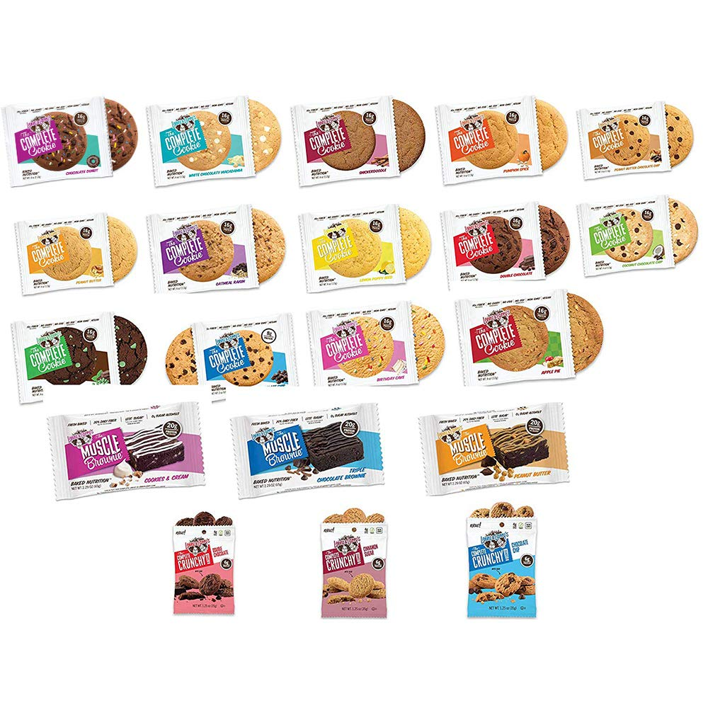Lenny & Larry's Complete Cookie, Combo Variety, 20 Count by Lenny and Larry