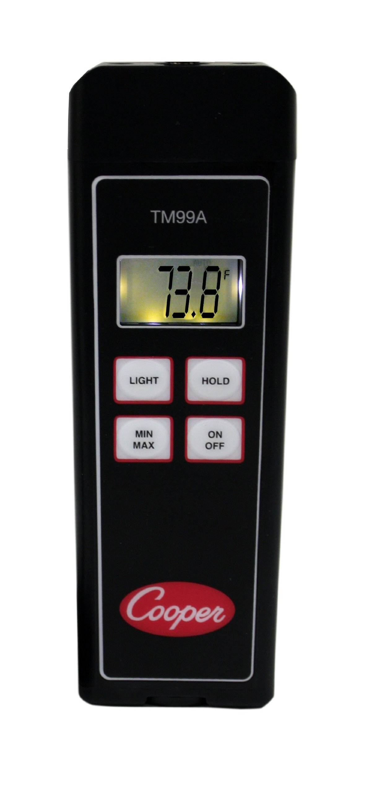 Cooper-Atkins TM99A-0 Thermistor Temperature Instrument Without Probe and with Pouch, -40°F to 302°F Temperature Range