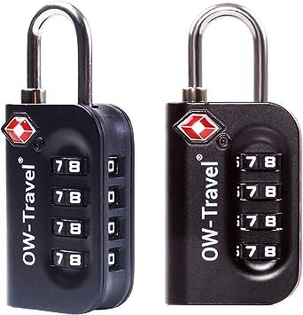 Candados TSA Combinacion Antirobo Maleta - Alta Seguridad ...