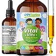 Liquid Vitamins for Kids - Immune System Booster for Kids - Best Immune System Support for Children, Great Tasting Children's