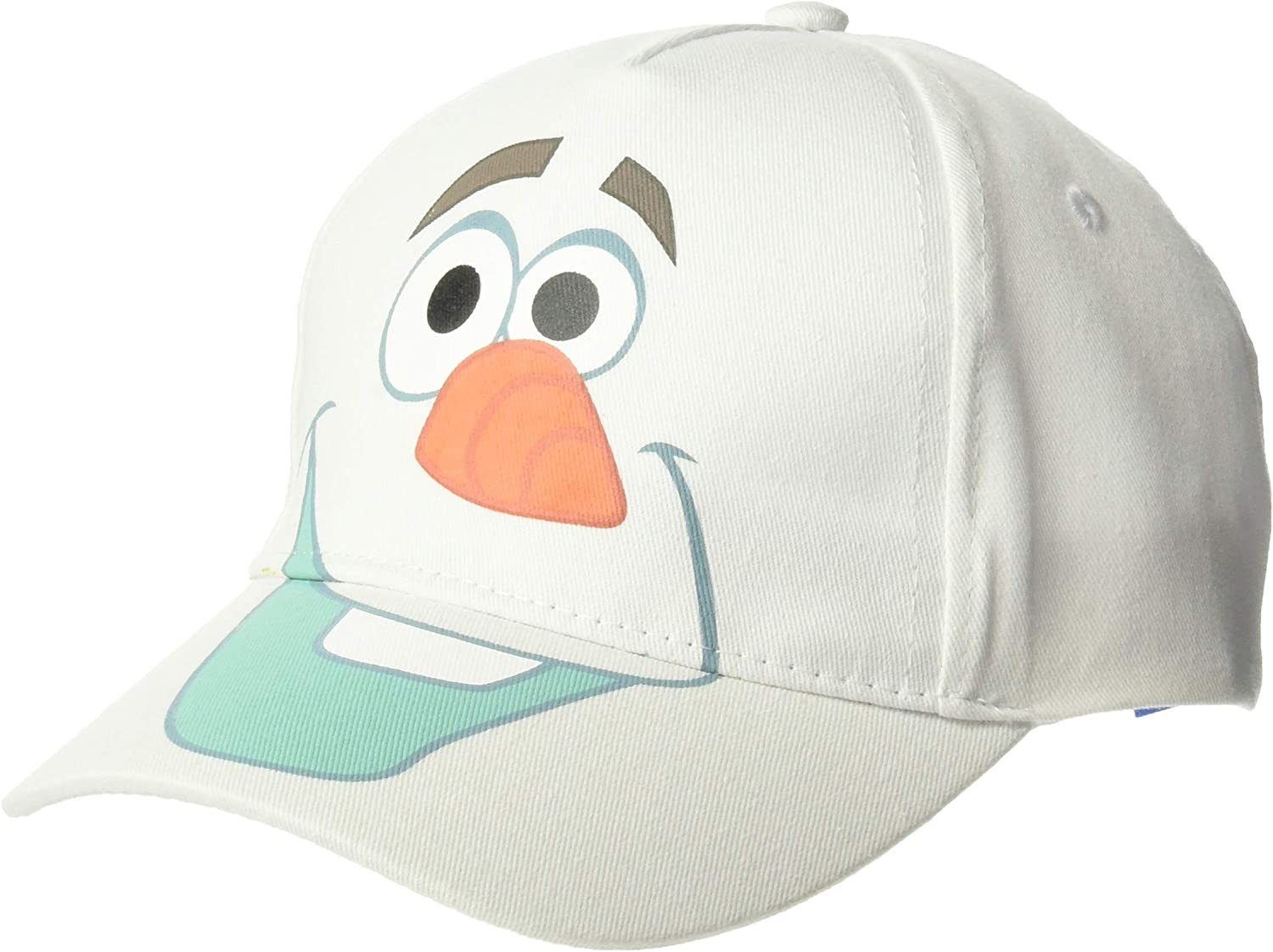 Disney Frozen Olaf The Snowman Peruvian Style Winter Hat White