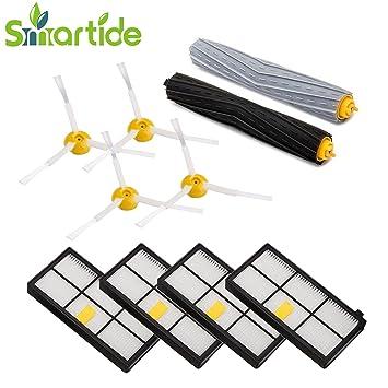 Smartide zubehür Set für iRobot Roomba Ersatzteile Roomba 800 Ersatzteile Ersatzkit für iRobot Roomba 800 serie