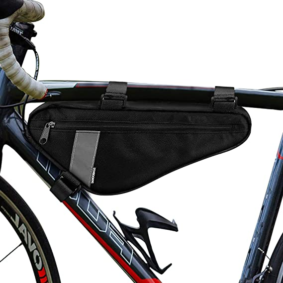 Bycicle Frame Pack Pannier Front Tube Bag Cycling Bike Frame Pack TriangleIBO