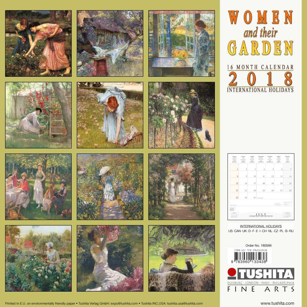 Women and their Garden (180566) (Fine Arts)