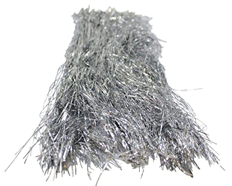 Icicles For Christmas Trees.Silver Tinsel For Christmas Tree 18 Inches 1000 Strands Icicles