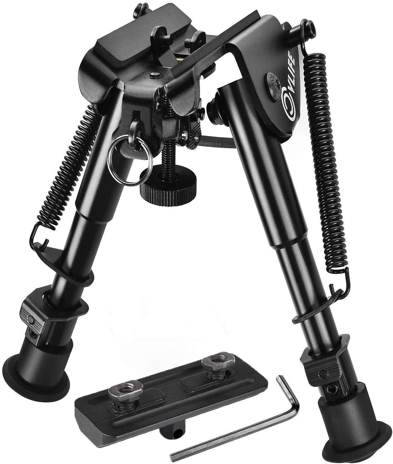 CVLIFE Bipod with M-LOK Mount Adapter 6-9 Inches by CVLIFE