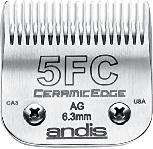 Andis CeramicEdge Carbon-Infused Steel Detachable Pet Clipper Blade