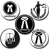 Capturing Happiness Advocate Button pin Badge Pack Of 5