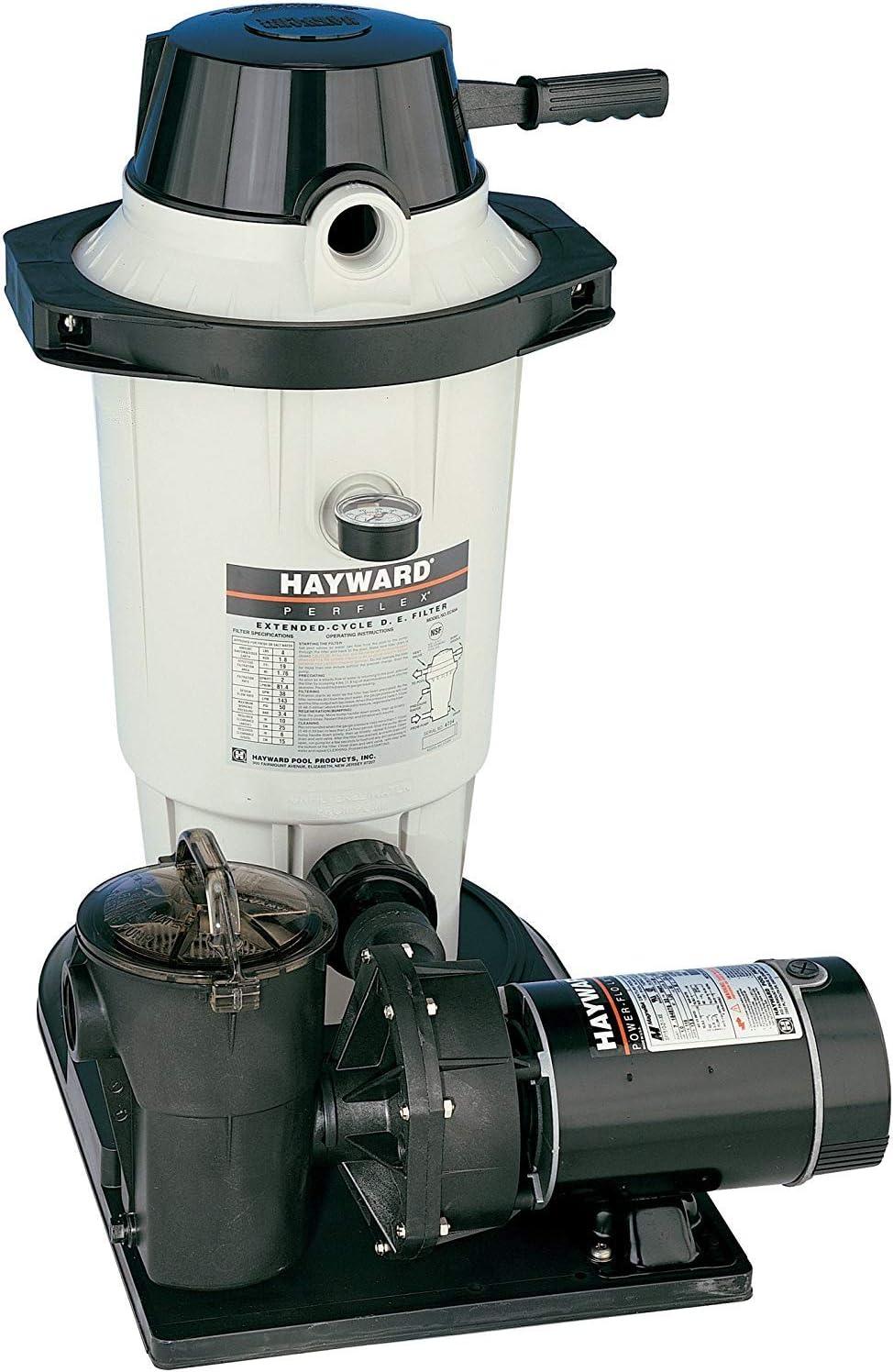 Hayward W3EC40C92S Perflex 1 HP D.E. Filter Pump System