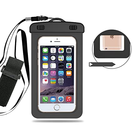 buy online b71c0 153e7 Amazon.com : AngelaKerry Waterproof Case Smart Phone Dry Bag Pouch ...