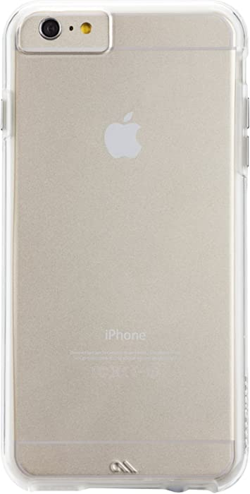 Case-Mate iPhone 6 Case - NAKED TOUGH - Clear - Slim Protective Design - Apple iPhone 6 / iPhone 6s - Clear