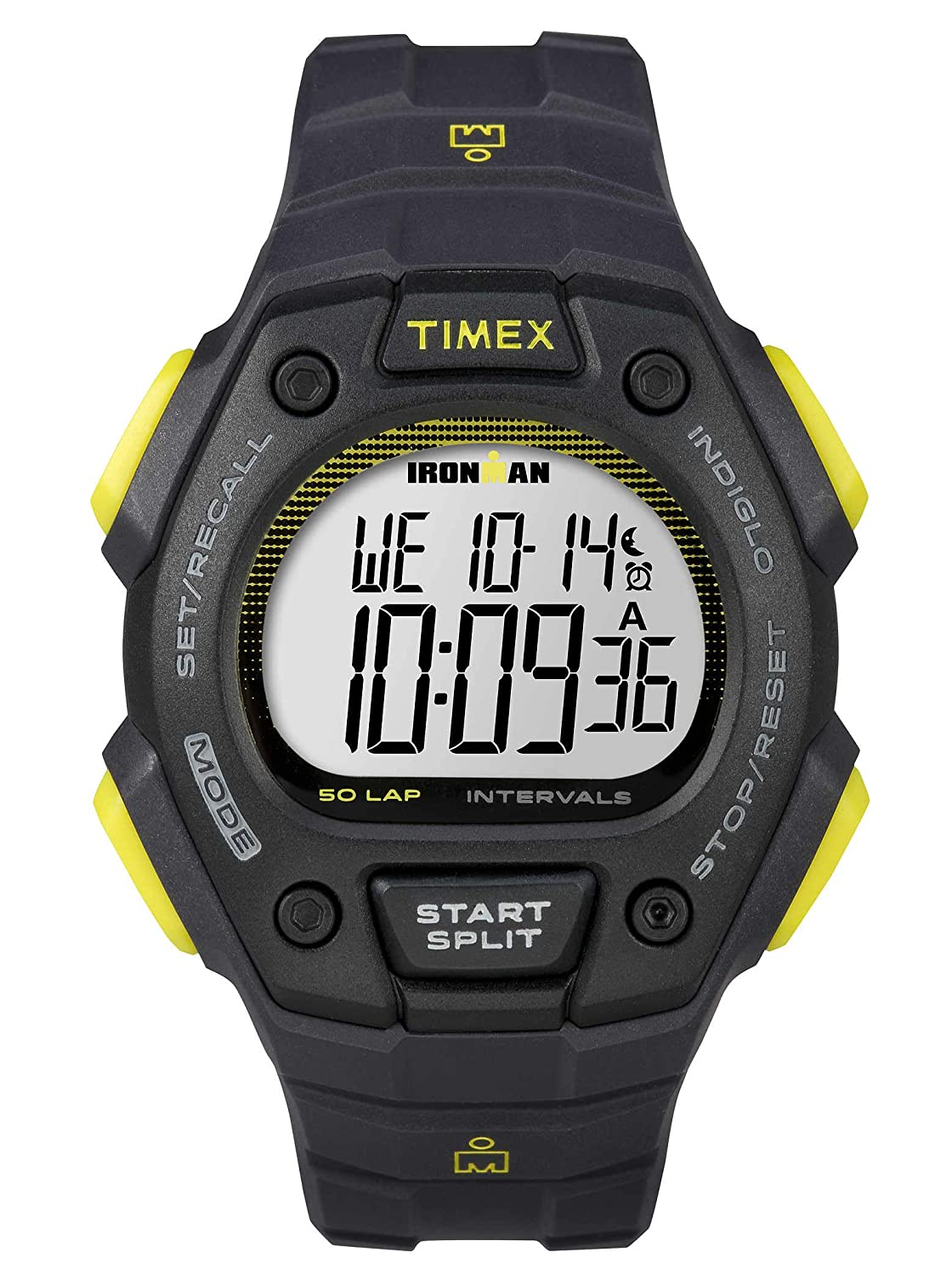 Amazon.com: Timex Classic 50 lap Ironman Digital Watch - Men's: Timex: Sports & Outdoors