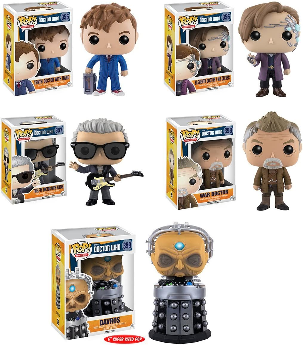 Vinyl Doctor Who War Doctor Pop