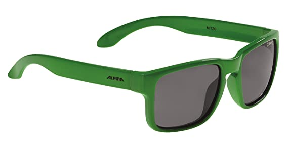 Alpina Jungen Mitzo Outdoorsport-Brille, Green, One Size