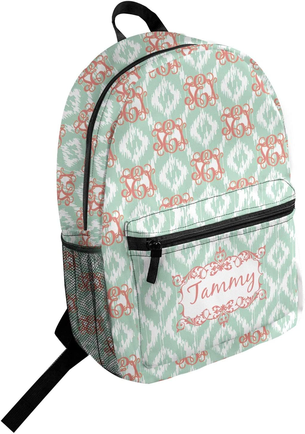 Monogram Student Backpack Personalized