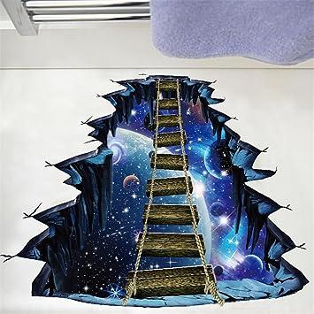 Wandaufkleber Erthome 3d Star Series Boden Wall Sticker Universum