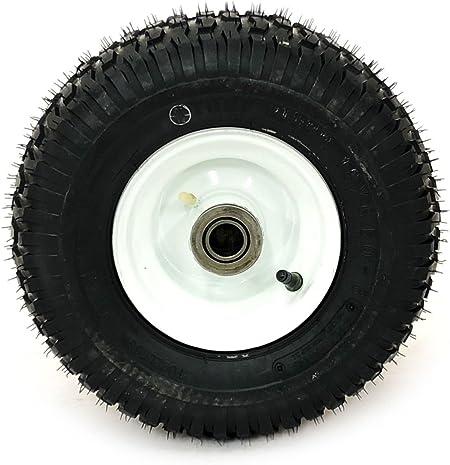 13 x 6.50 – 6 Toro Tire Asamblea W/doble color blanco rueda Polea ...