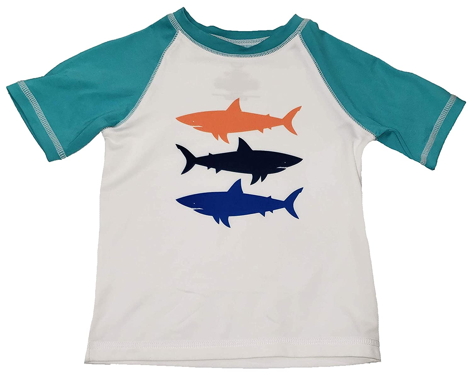 Toddler Boys Shark Rash Guard Shirt