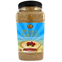 Deals on Premium Gold Whole Flax Seed High Fiber Food Omega 3 96oz