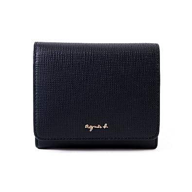 288a769f1e74 Amazon | [名入れ可] (アニエスベー ボヤージュ) agnes b. VOYAGE レザー ウォレット 本革 二つ折り財布 HW11-01  ショップバッグ付 | 財布