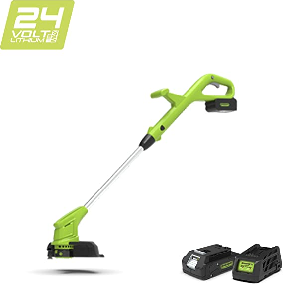 Cortaborde de Bateria 24 V, Verde Greenworks Tools