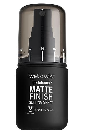 wet n wild Photo Focus Matte Finish Setting Spray, Matte Appeal, 1.52 Fluid Ounce (Color: Matte Appeal, Tamaño: 1)