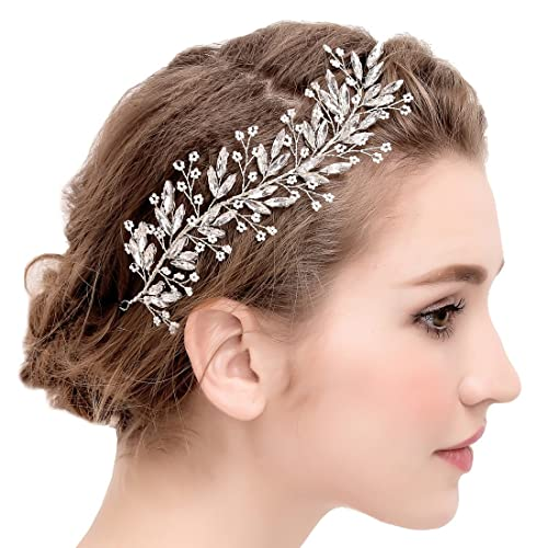bon ajustement bébé assez bon marché Ornamento per capelli sposa, elegante fascia AB a tralcio di ...
