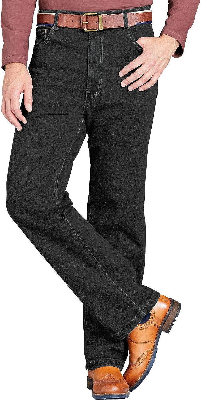 TALLA 32W / 27L. Chums Pantalones Vaqueros de Pegasus con Pretina Elástica, para Hombre