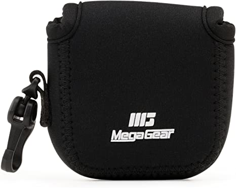 MegaGear MG1312 Estuche de cámara ultra ligero, de neopreno compatible con DJI Osmo Action, Sony RX0 II, GoPro Hero 7, Sony RX0 1.0, GoPro Hero 5 Black, Hero 6 Black - Negro: Amazon.es: Electrónica