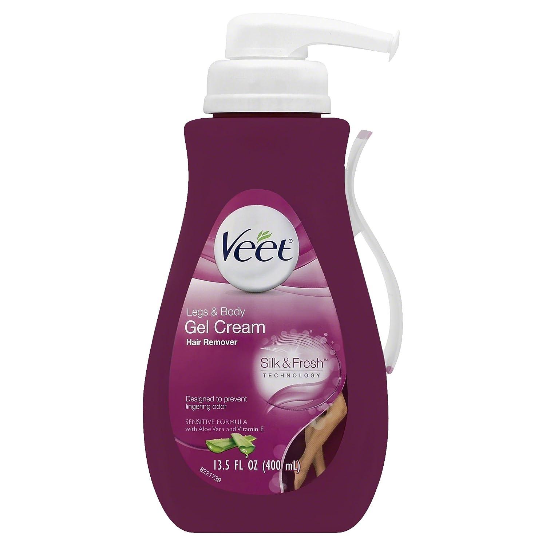 Veet Fast Acting Gel Cream Hair Remover for Women, 13.5 Ounce 62200809951