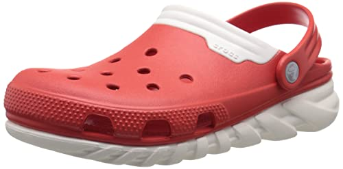 ac9b5cd241e5d Crocs Duet Max Clog Unisex Slip on  Shoes  201398-884-M8W10  Buy Online at  Low Prices in India - Amazon.in