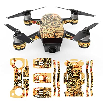 For DJI Spark Drone Leewa Waterproof Skins Decals Remote Controller Stickers H