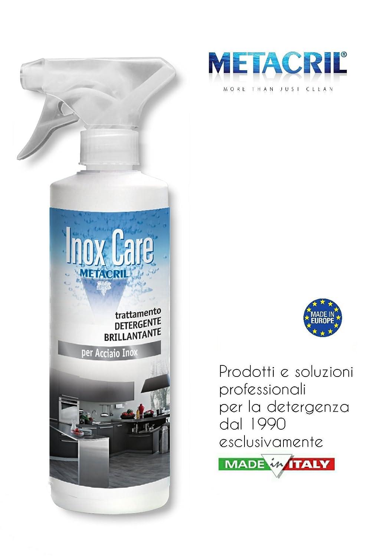Detergente e brillantante Protettivo per Acciaio Inox - Inox Care 750ml - SPEDIZIONE IMMEDIATA Tecno Line sas