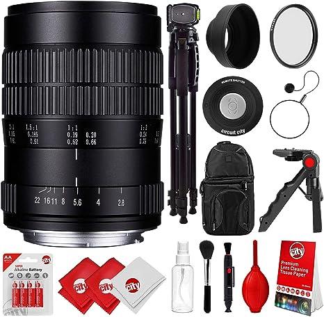 Oshiro 60 mm f/2.8 2:1 LD UNC Full Frame Ultra Macro Lente para ...