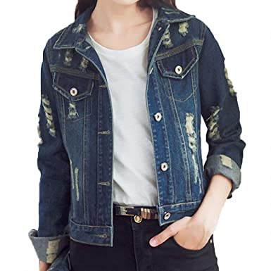 Denim Jacket For Women NEW Autumn Long Sleeve Bomber Slim Casual Jaqueta Jeans Boyfriends Casaco Feminino