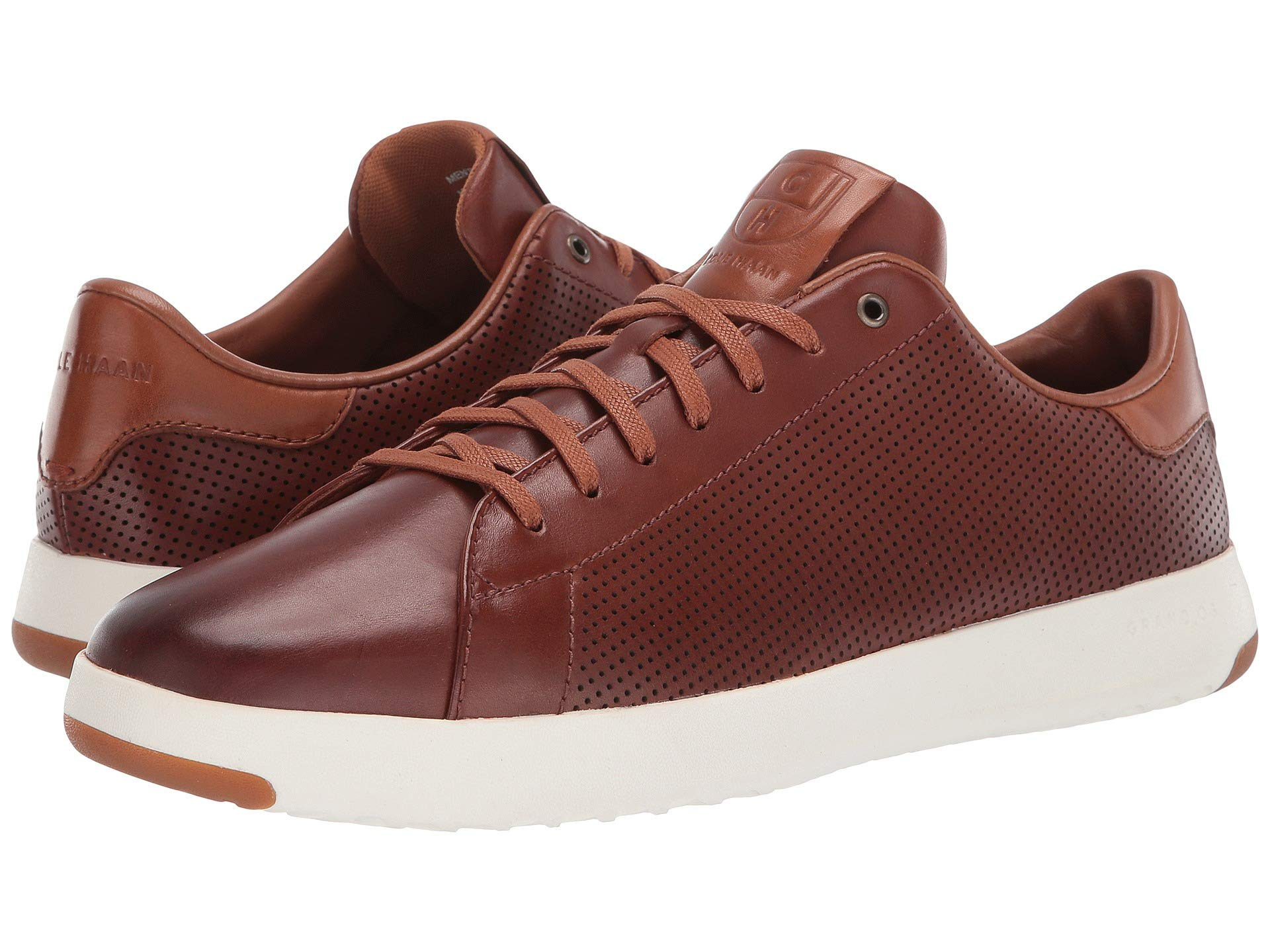 Cole Haan Mens Grandpro Tennis Sneaker 7 Woodbury Handstained Leather by Cole Haan (Image #7)