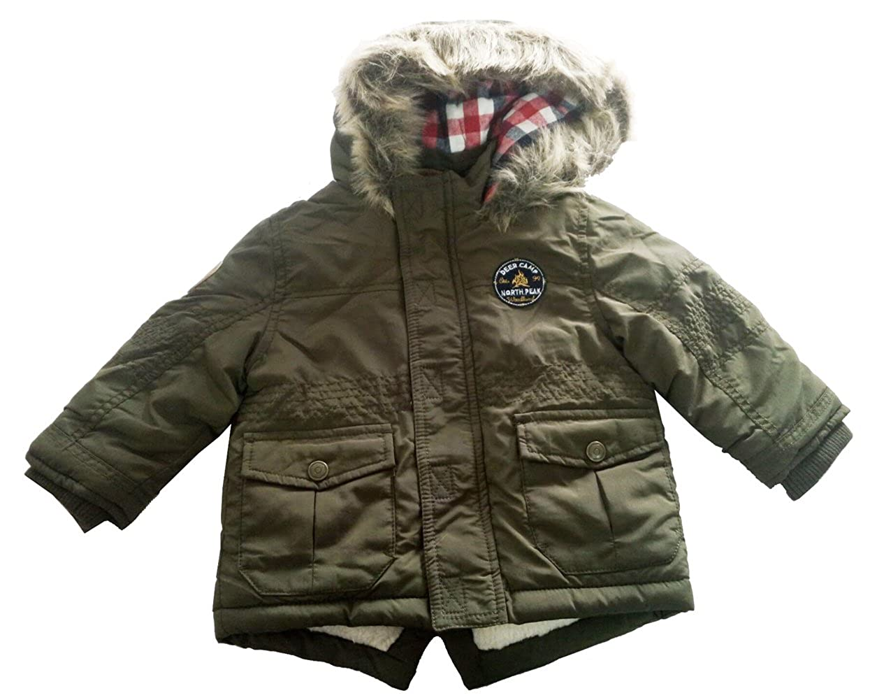 Little Boys Berber Fleece Thick Winter Warn Jacket Outerwear Coats