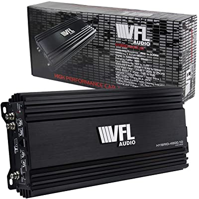 American Bass VFL4800-1D Class D Mono Hybrid Amplifier 4480 Watts: Car Electronics