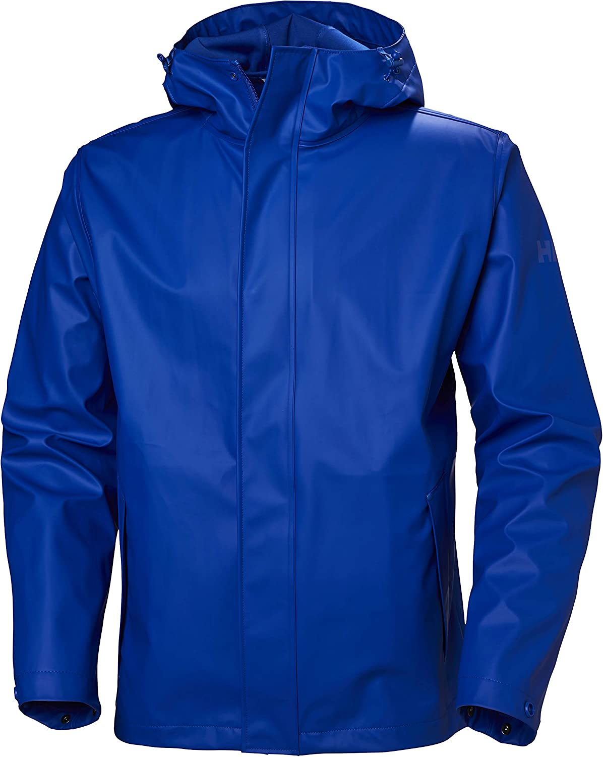 Helly-Hansen mens Moss Hooded Fully Waterproof Windproof Raincoat Jacket