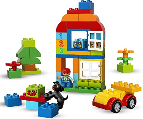 LEGO ® DUPLO ® 10571 grande steinebox filles nouveau /_ All-in-One-pink Box-of-Fun New