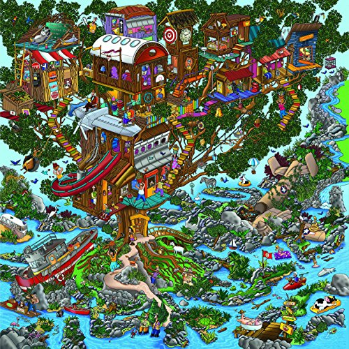 Ingooood- Jigsaw puzzle- 2018 New Arrival - Imagination Series –The tree house - 500 Pieces for Parent-child Game Decompression leisure entertainment (Series Imagination)