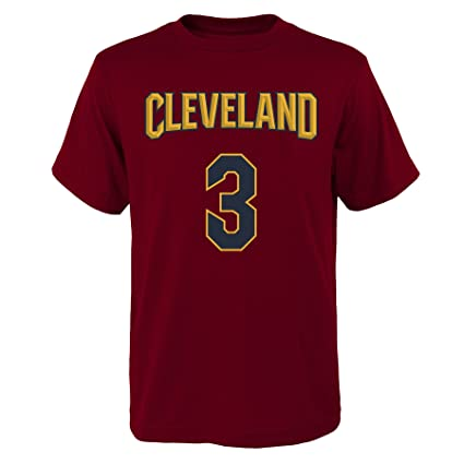 9a48e99cc67 ... low cost outerstuff isaiah thomas cleveland cavaliers 3 red youth home  name number t shirt decfd